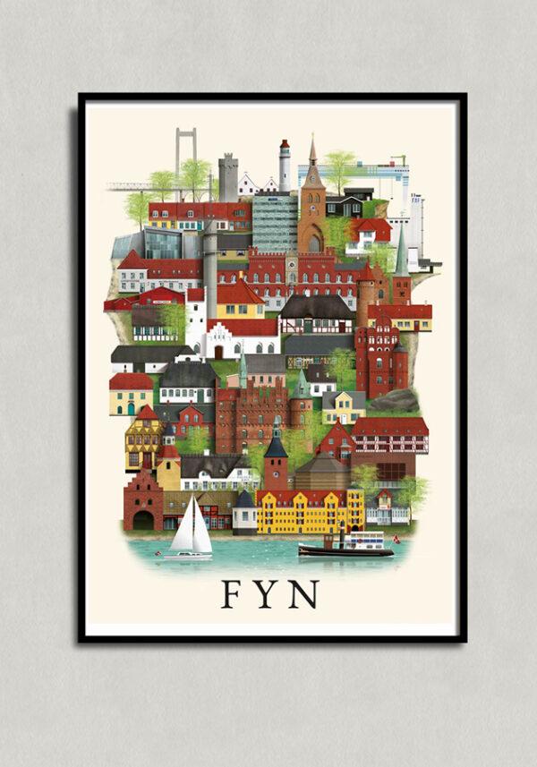 Fyn plakat af Martin Schwartz