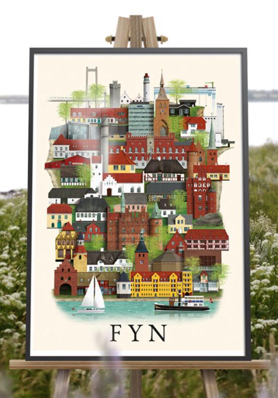 fyn poster by Martin Schwartz