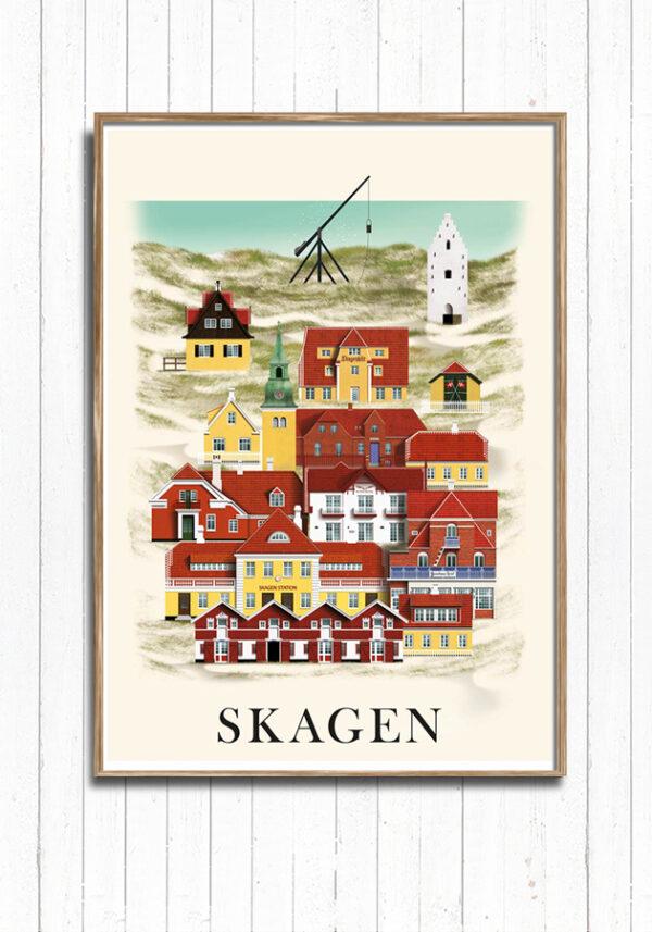 Skagen plakat af Martin Schwartz.