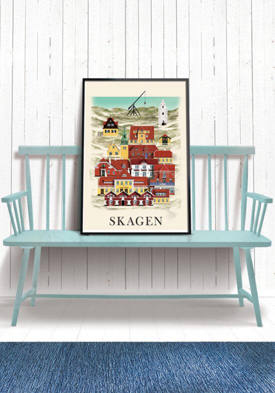 Skagen poster by Martin Schwartz