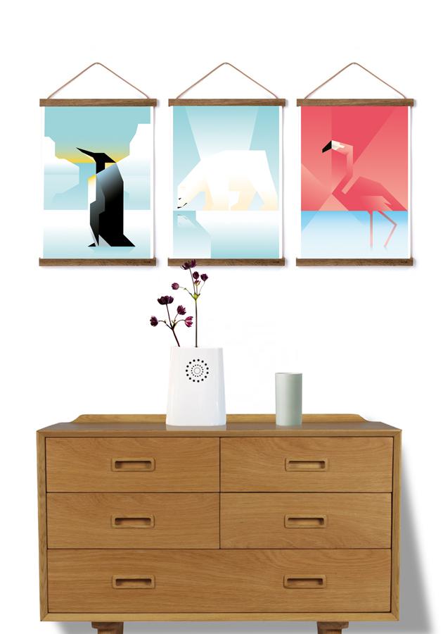 Animal posters by Martin Schwartz