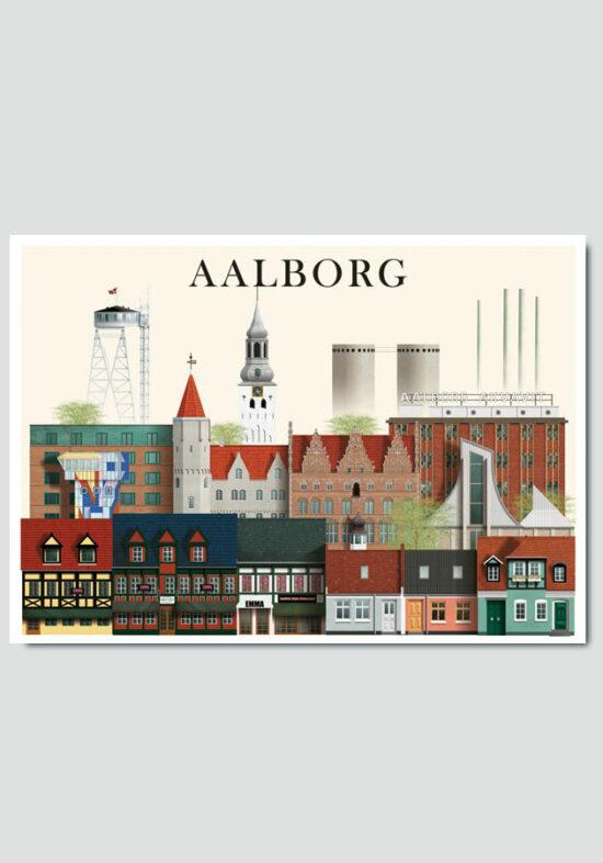 aalborg card by Martin Schwartz