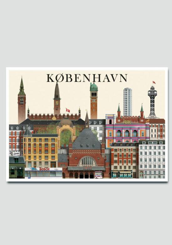 Copenhagen postcard by MartinSchwartz
