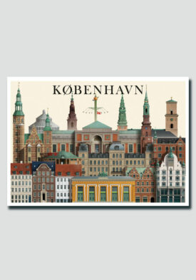 Copenhagen card by Martin Schwartz