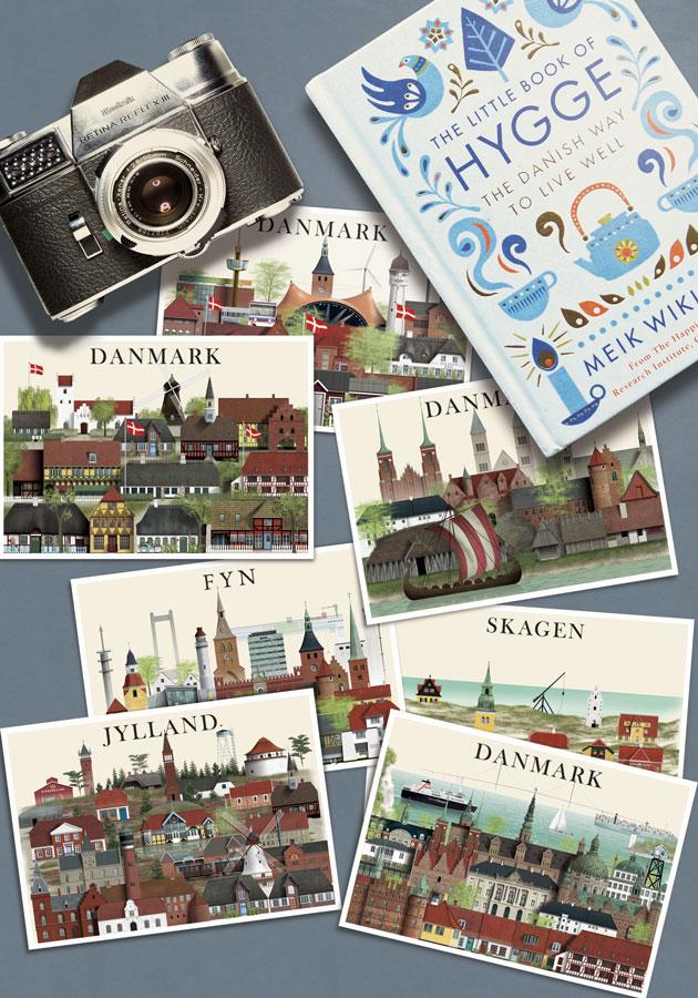 Danmark postkort