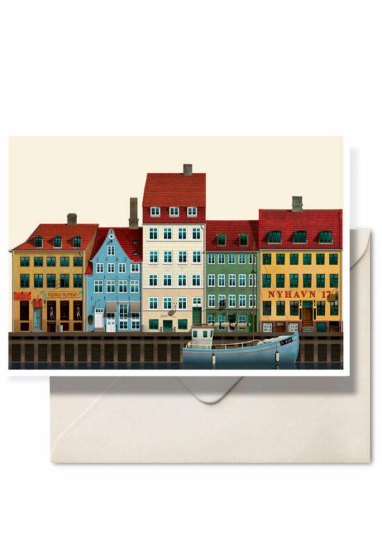 Nyhavn by Martin Schwartz