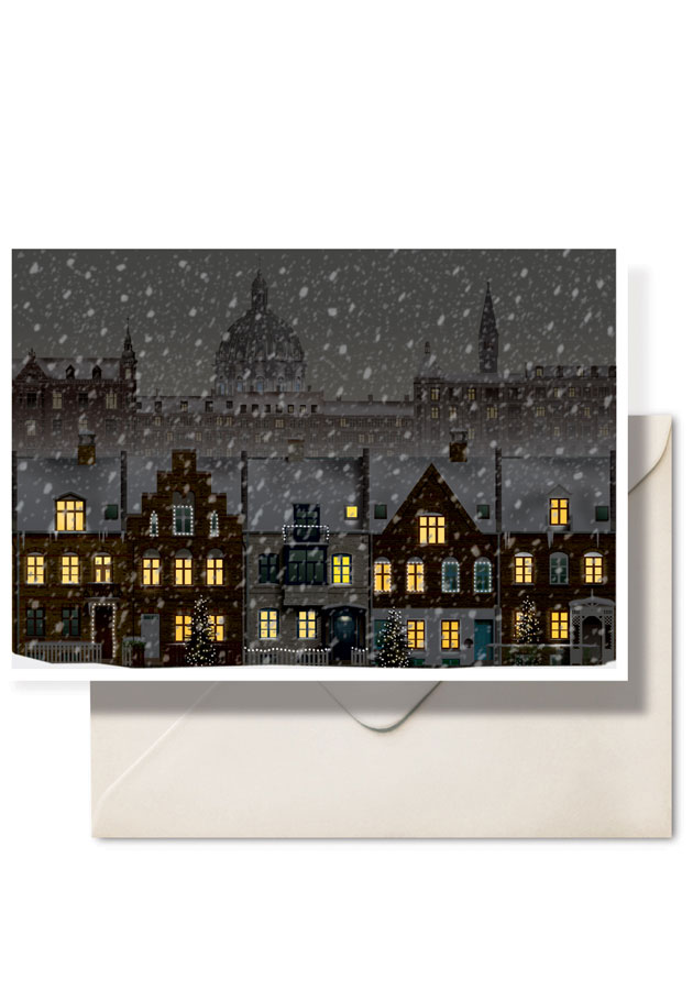 Christmas in Copenhagen by Danish illustrator Martin Schwartz