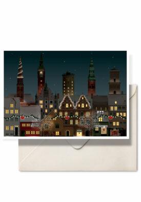 Christmas in Copenhagen by Danish illustrator Martin Schwartz