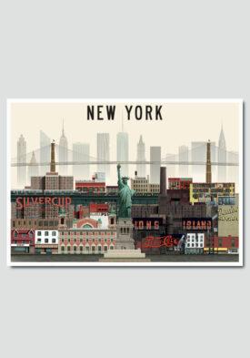 New York by Martin Schwartz