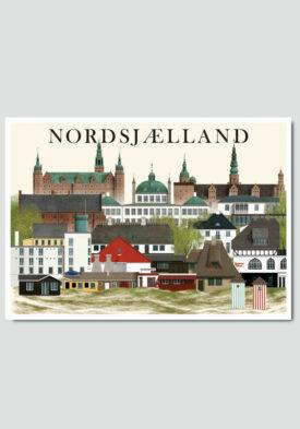 Nordsjælland card by Martin Schwartz