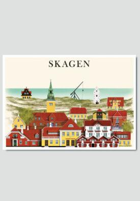 Skagen card by Martin Schwartz
