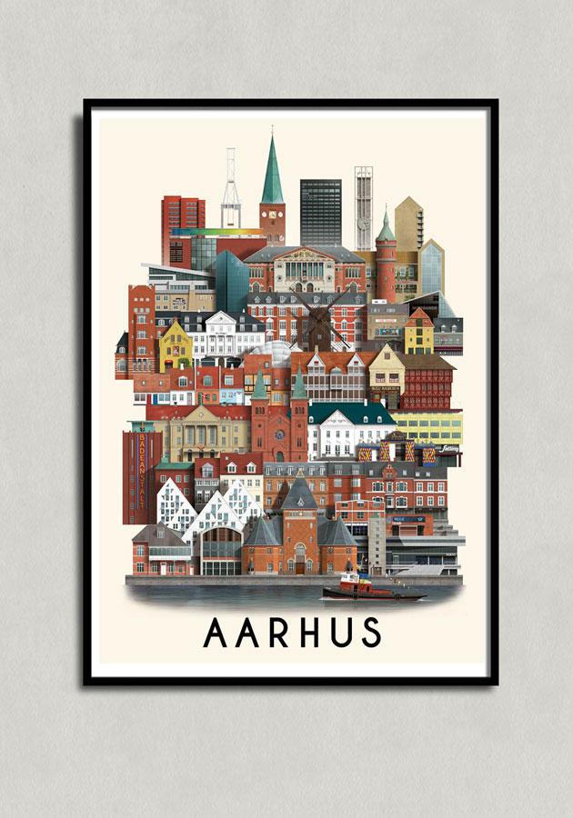 Aarhusplakat af Martin Schwartz