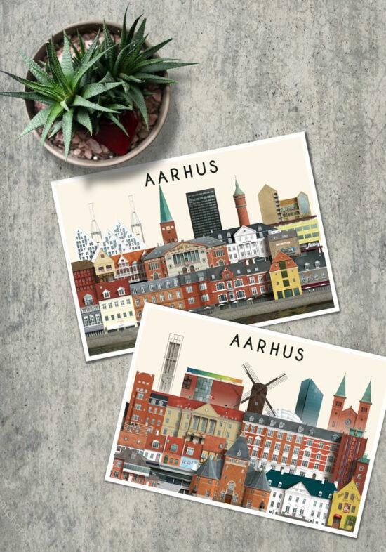 Aarhus postkort