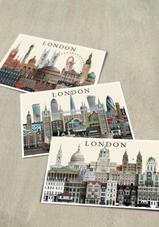 London cards by Martin Schwartz