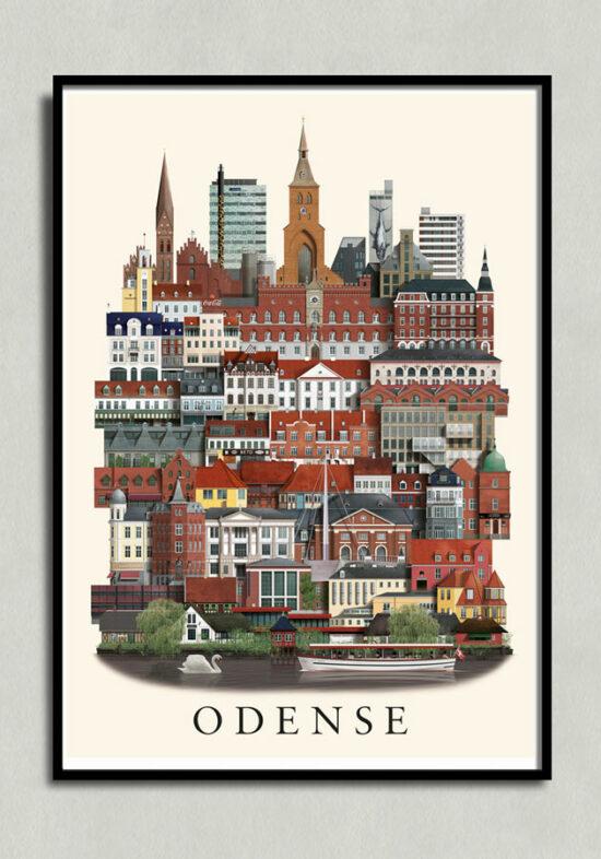 Odenseplakat, Odense poster, Odense print