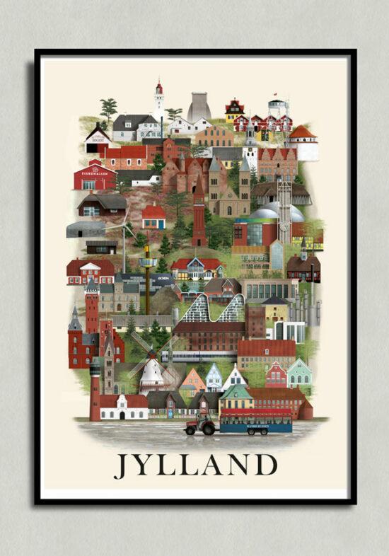 Jyllandplakat, jutland poster