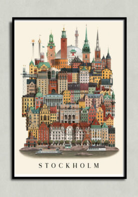 stockholm poster, stockholm plakat, stockholm affisch, stockholm print