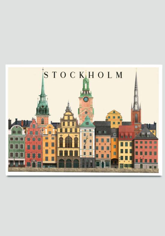 stockholm card by Martin Schwartz