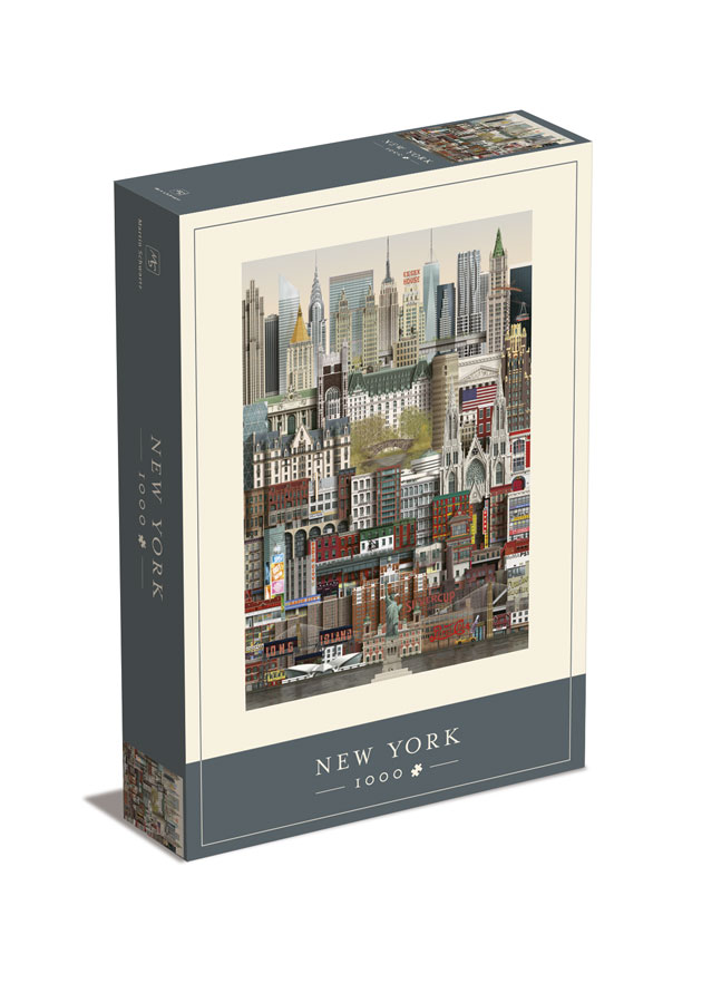 New York jigsaw puzzle from Martin Schwartz