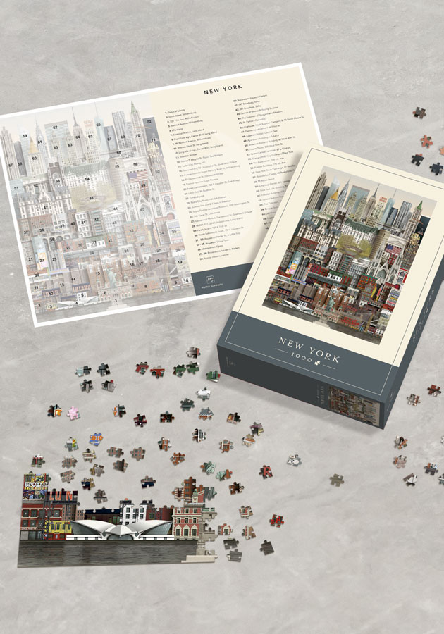 New York jigsaw puzzle by Martin Schwartz