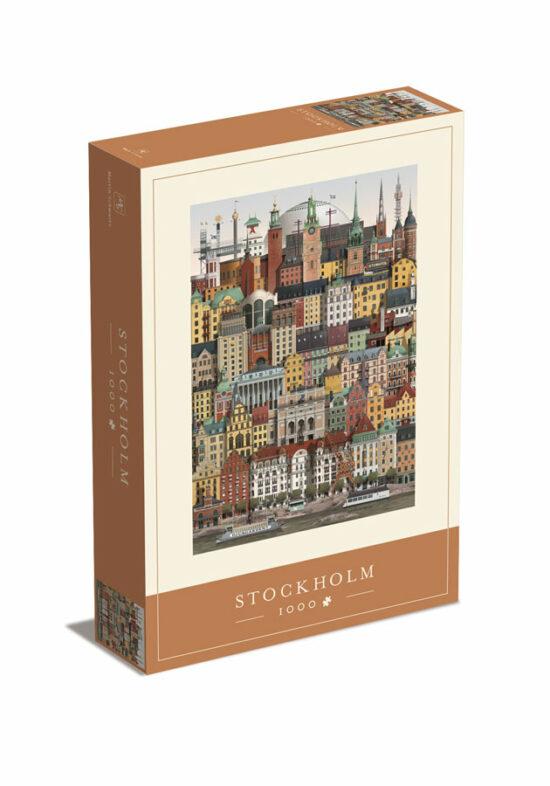 Stockholm jigsaw puzzle from Martin Schwartz