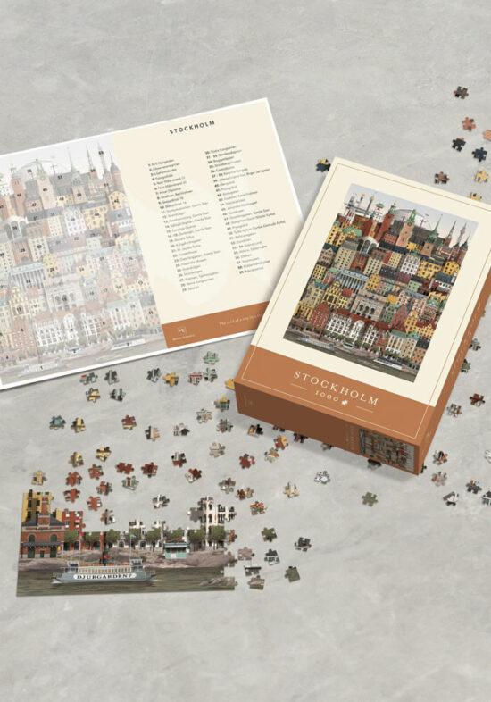 Stockholm jigsaw puzzle by Martin Schwartz