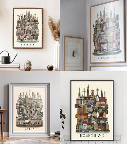 cityposters by Martin Schwartz