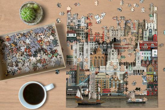 London jigsaw puzzle by Martin Schwartz