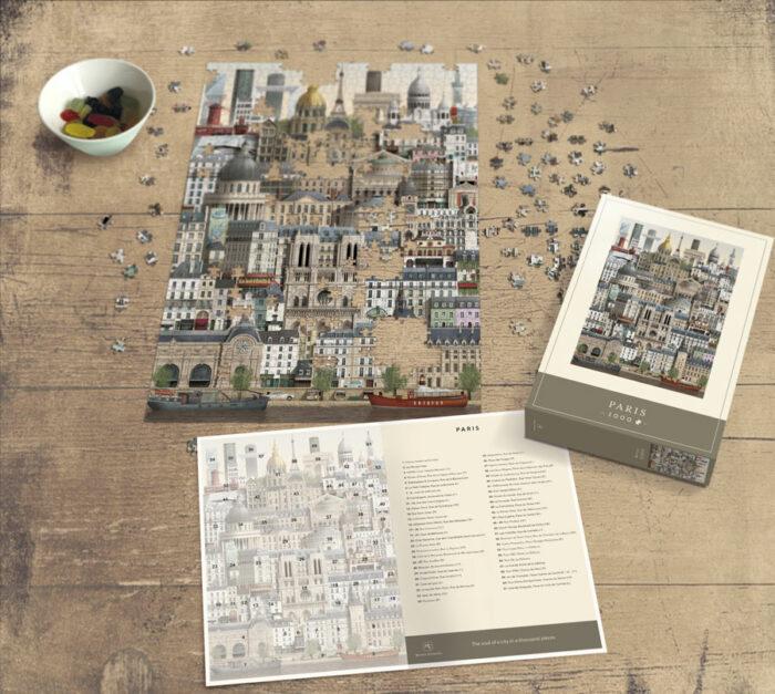 Paris jigsaw puzzle by Martin Schwartz