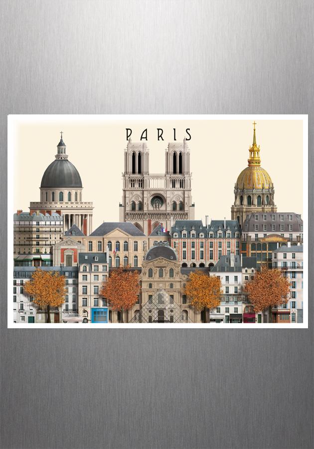 Paris magnet souvenir