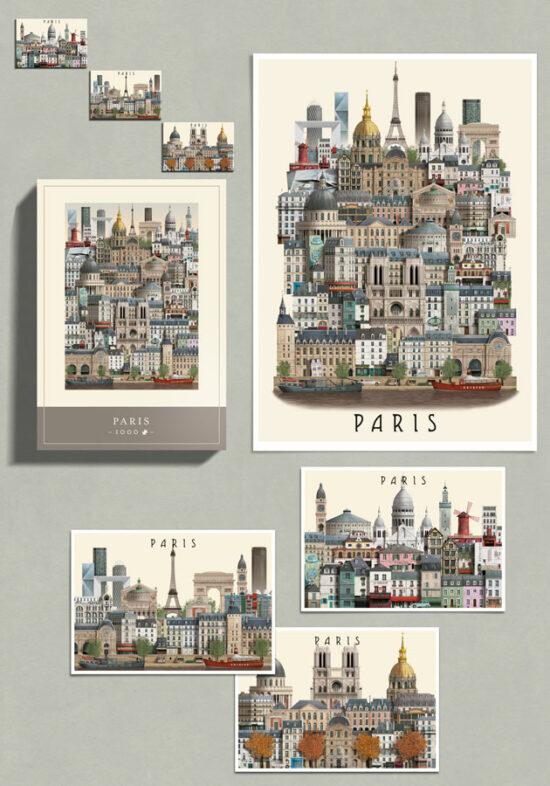 Paris City Bundle